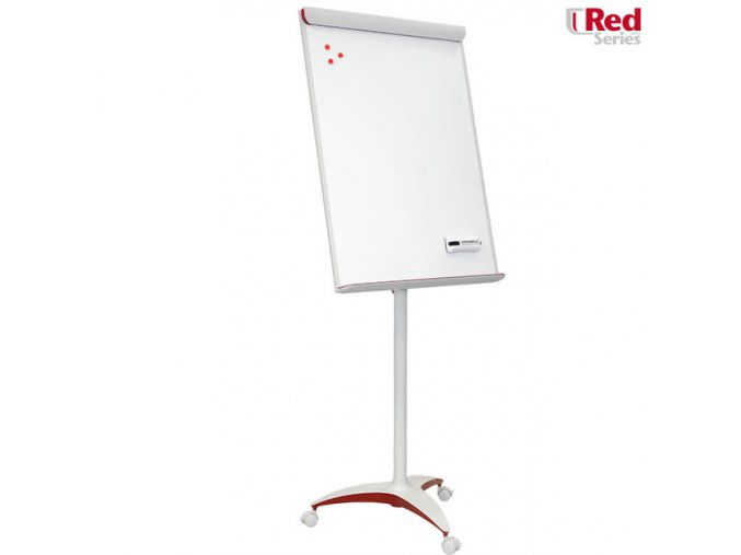 Flipchart - Mobilechart RED