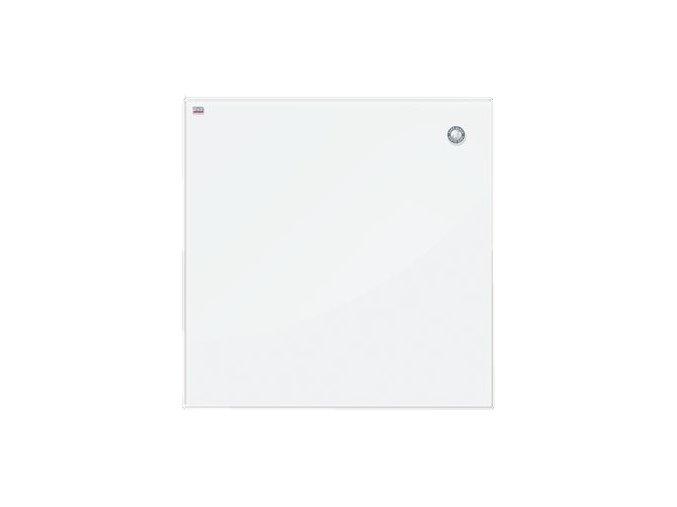 Magnetická skleněná tabule - bíla 100 x 100 cm