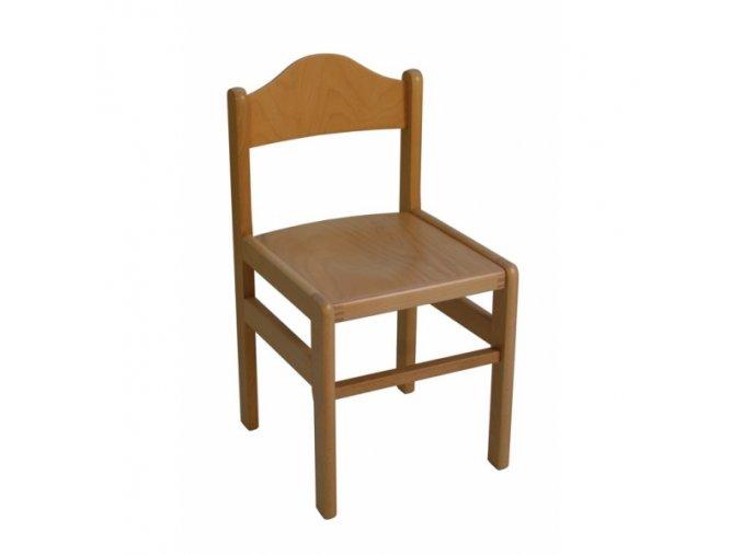 Židlička dřevěná