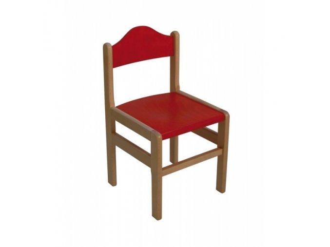 Židlička dřevěná kombinovaná