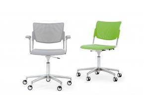 Židle MIA - kolečka
