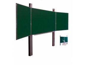 Pylonová tabule - trojdílná