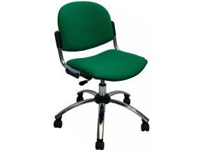 Pracovní židle FLOU - čalouněná