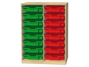 Skříňka CLASSIC K2