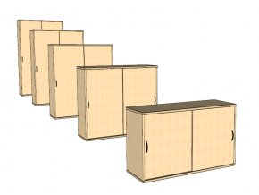 Dveřová skříň S5