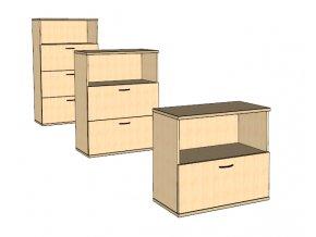 Šuplíková skříňka S6