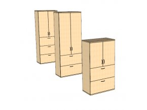 Šuplíková skříň S11