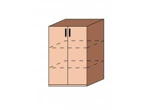 Skříňka dveřová ET-32