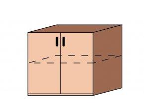Skříňka dveřová ET-39