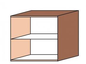 Skříňka otevřená ET-40