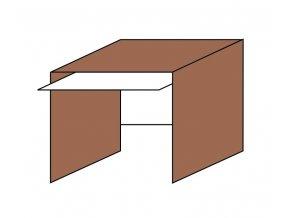 Stůl pod PC s výsuvem ETS-33
