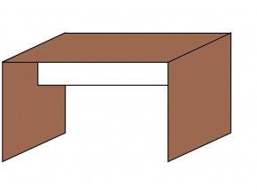 Stůl jednací 160x70  ETS-38