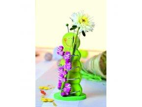 Zábavný stojan na květinu