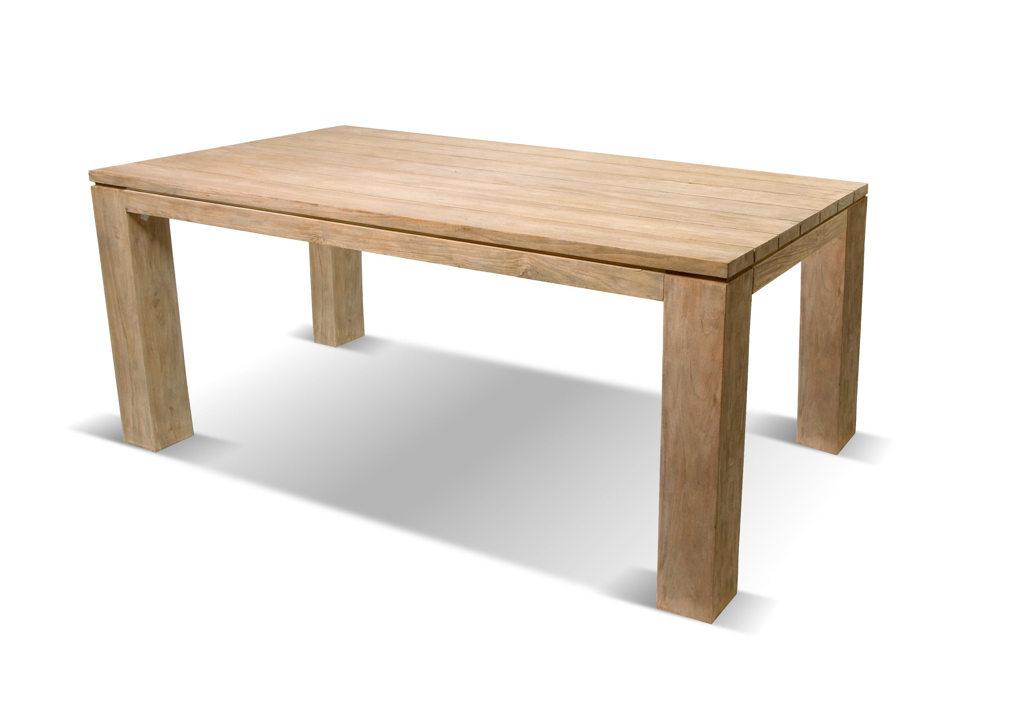 Zahradní teakové stoly