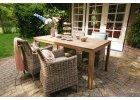 Zahradní ratanové stoly