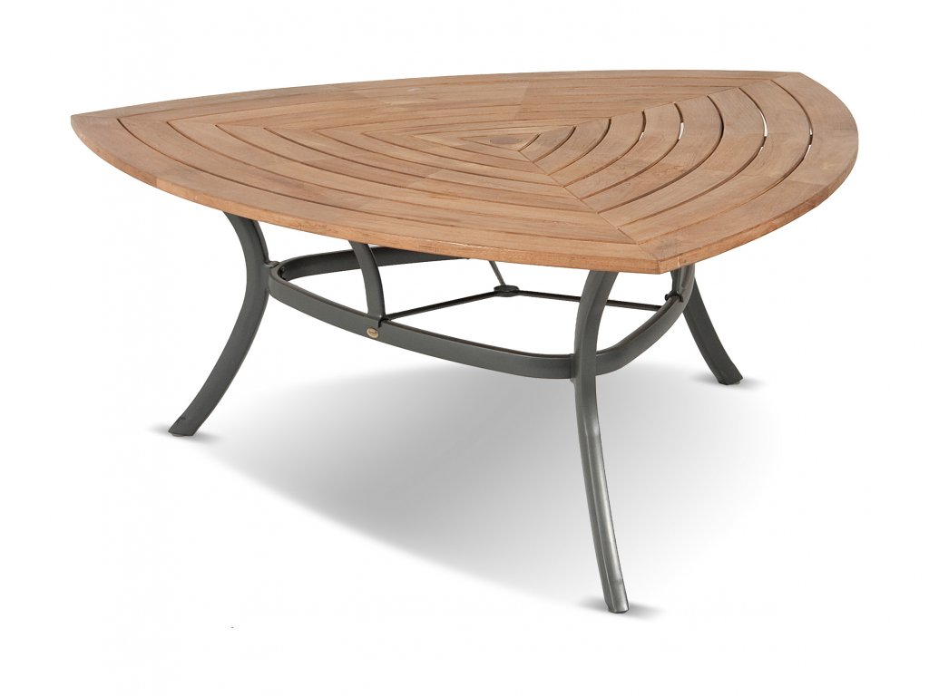53338200+62283010 Triangular teak table 170x170x170cm