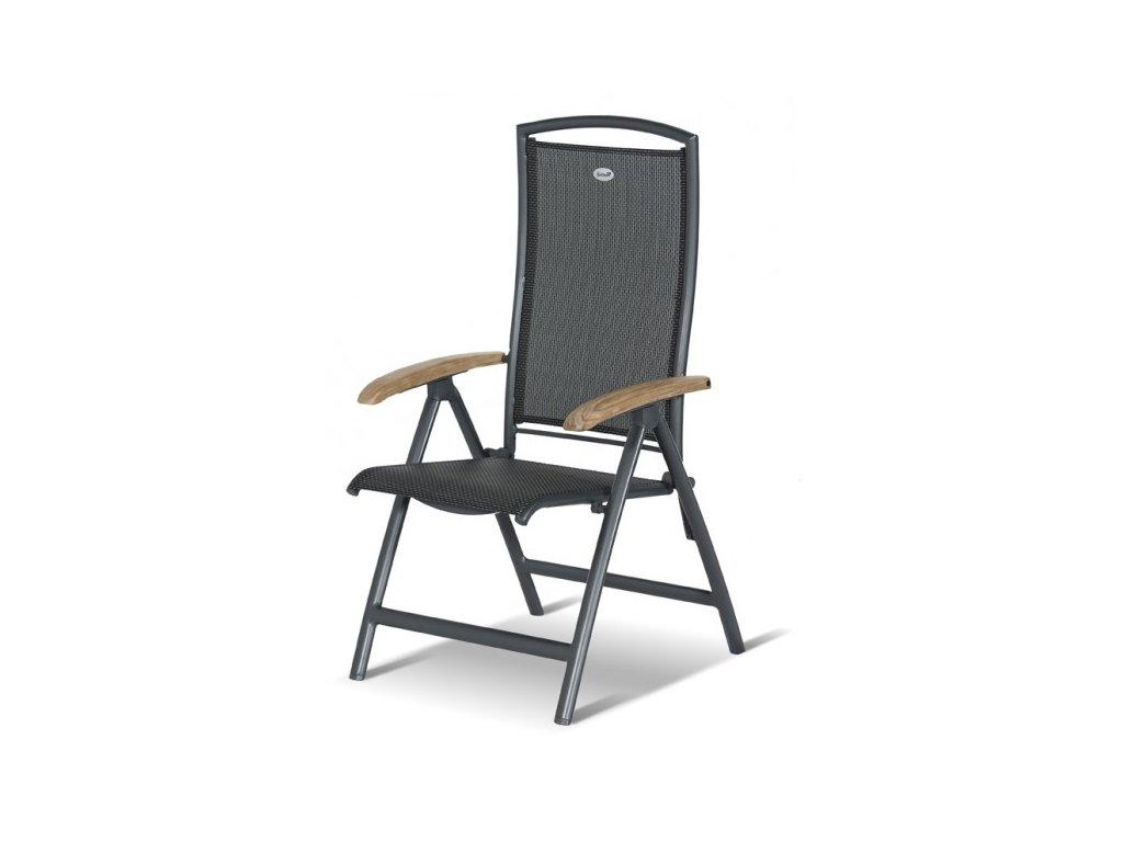 Hartman hliníková polohovací židle
