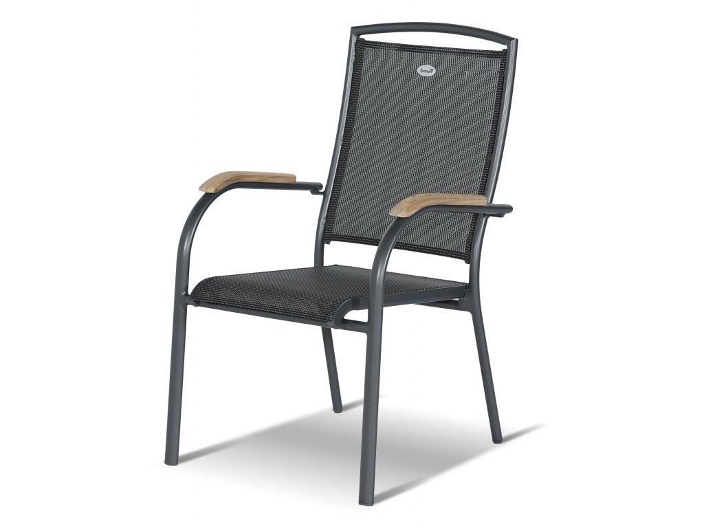 Hartman pevná židle z hliníku