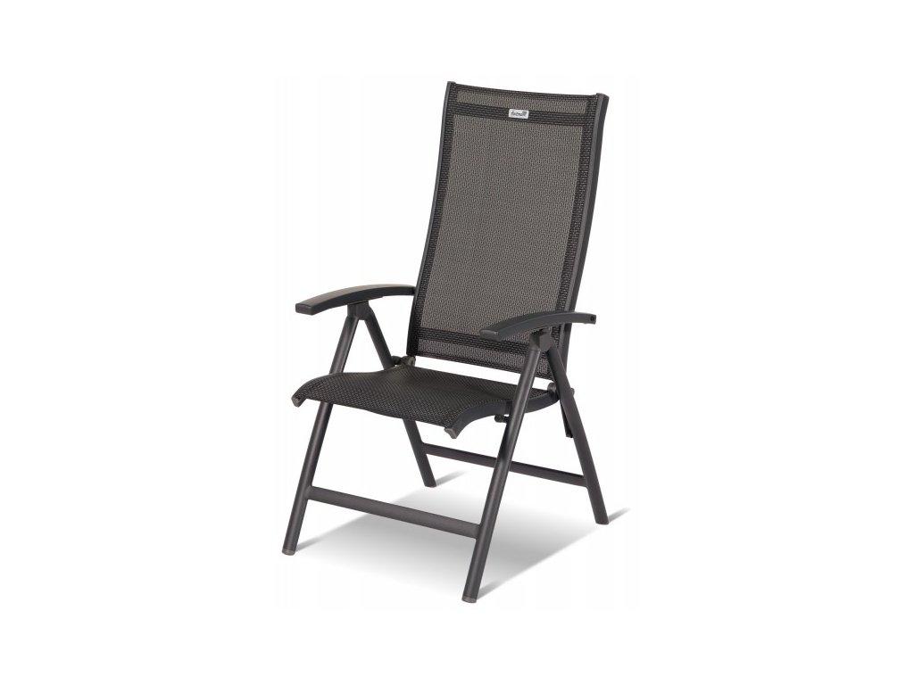 polohovací zahradní židle