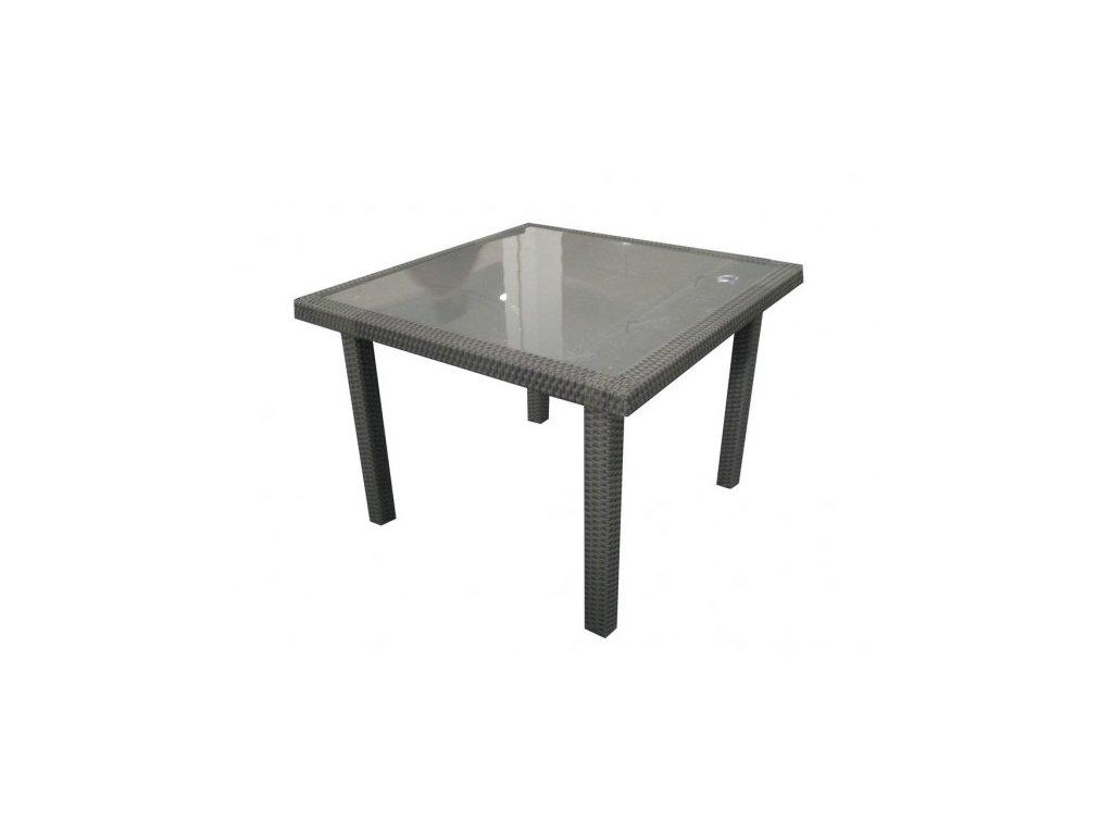 ratanový stolek na balkony a tesasy