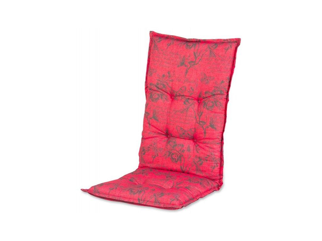Papillon potah na zahradní nábytek červený