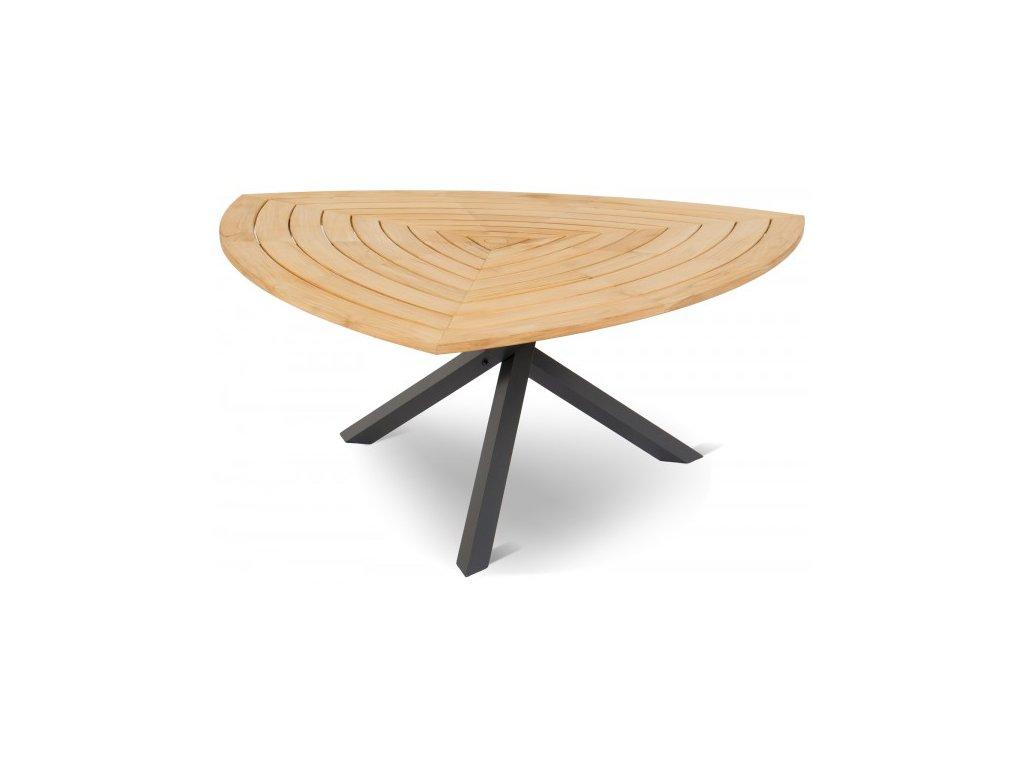Hartman luxusní zahradní stůl s dřevěnou teakovou deskou