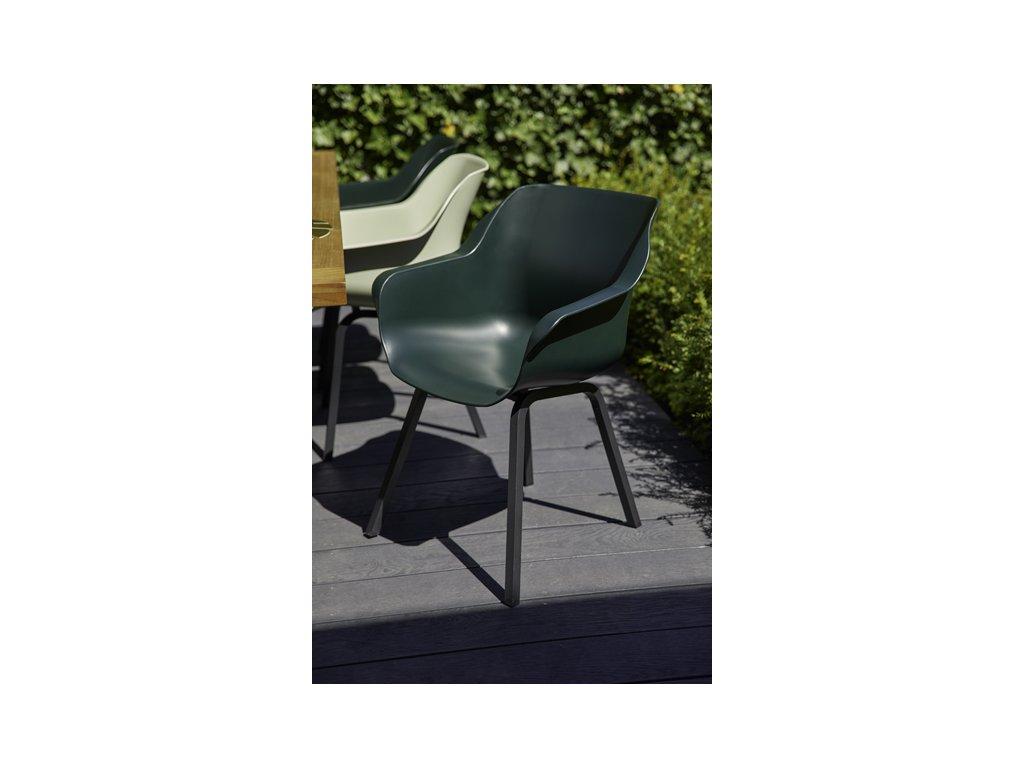 jídelní židle Hartman s alu podnoží