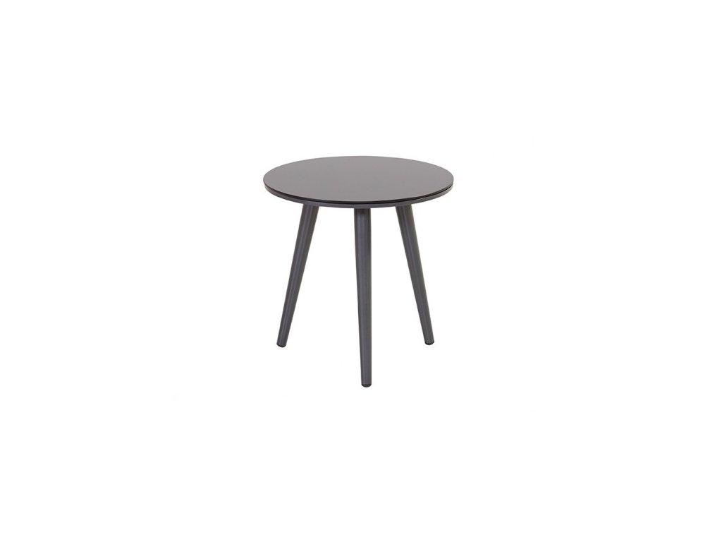 zahradní stolek barva tmavě šedá