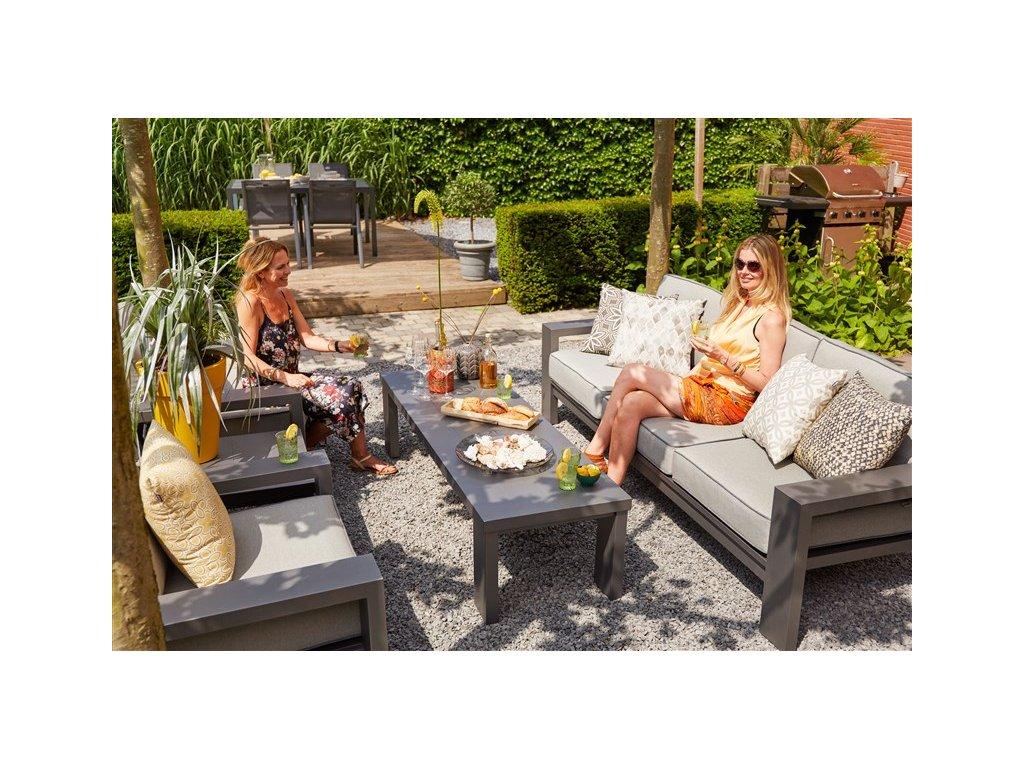 relaxační set na zahradu