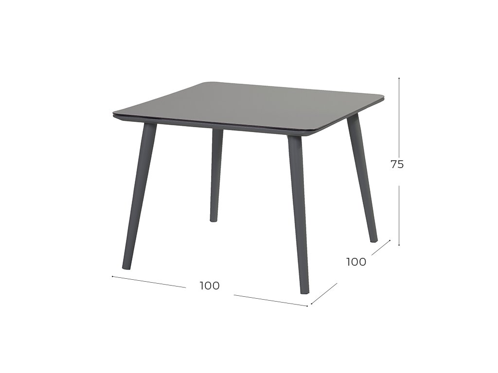 Hartman zahradní stůl černý