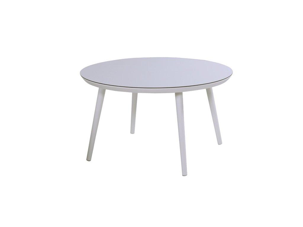 jídelní stůl Hartman kulatý white