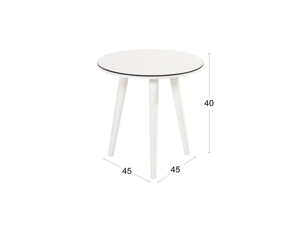 Zahradní boční stolek Hartman