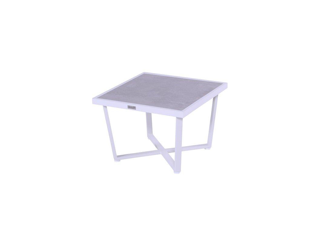 nízký kávový stůl Hartman bílý