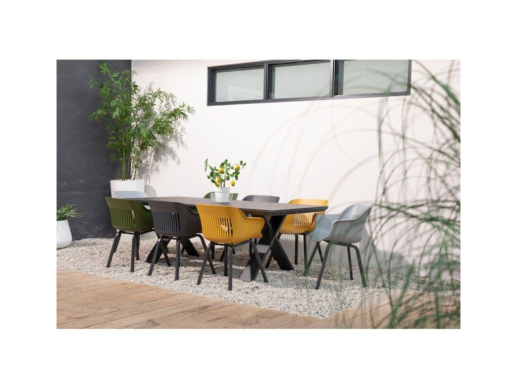Hartman zahradní hliníkový stůl