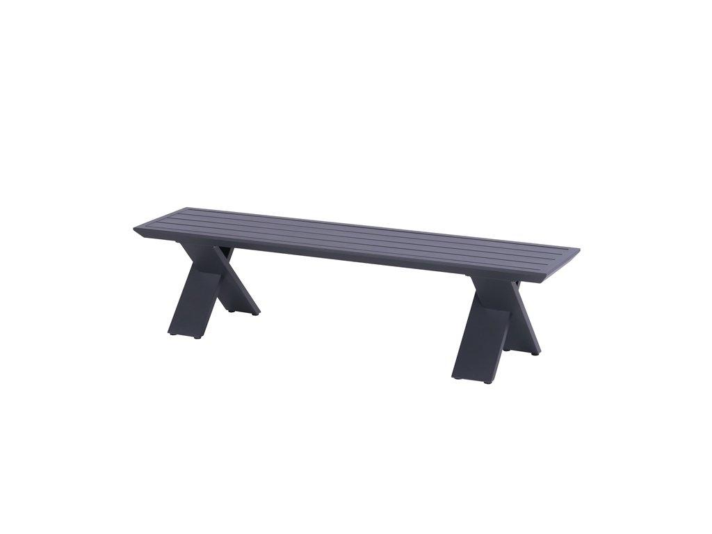 Hartman hliníková venkovní lavice