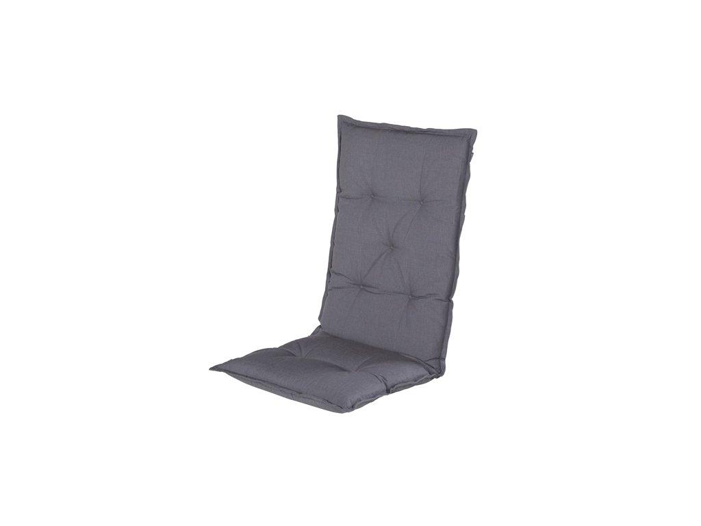 Hartman zahradní polstr šedý na polohovací židli