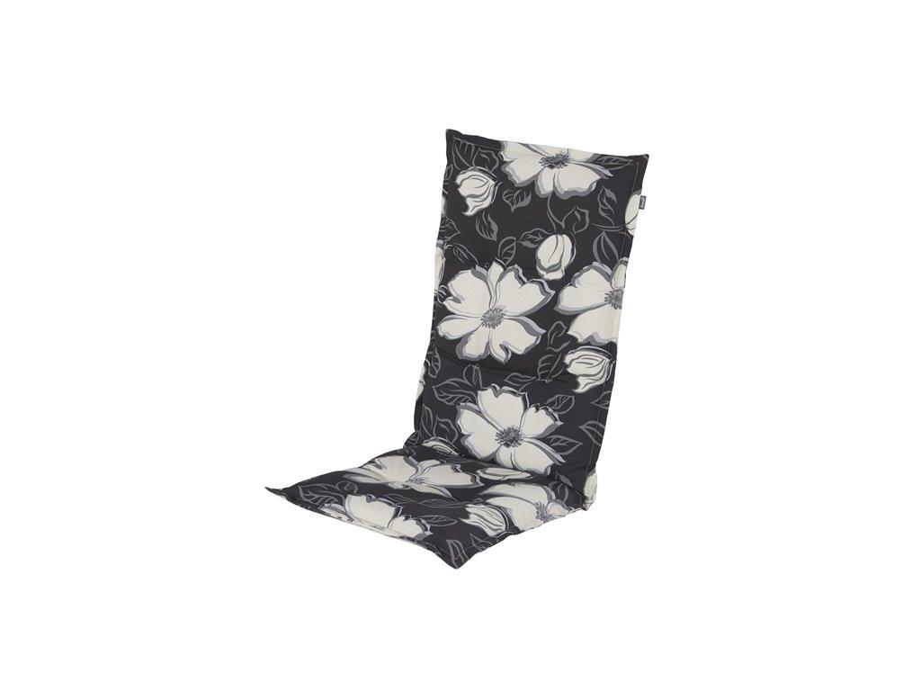 Hartman polstr sedák na polohovací zahradní židli květinový vzor