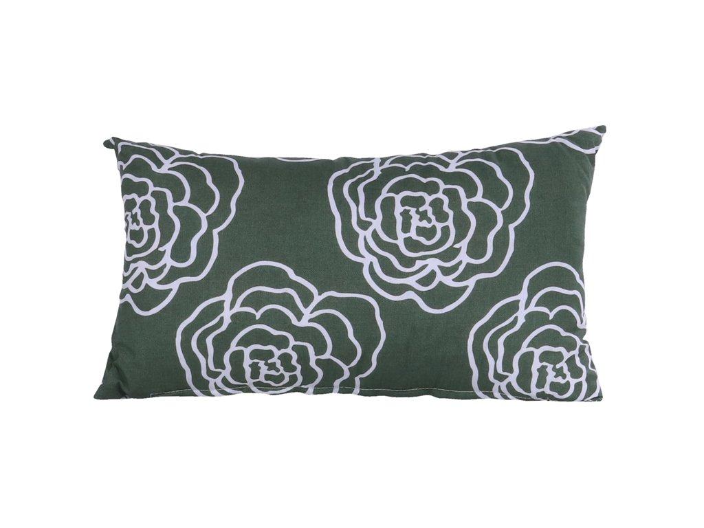 Hartman dekorační polštář zelený 50x30cm