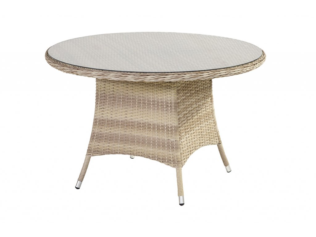Lotus ratanový stolek 70cm honey and milk