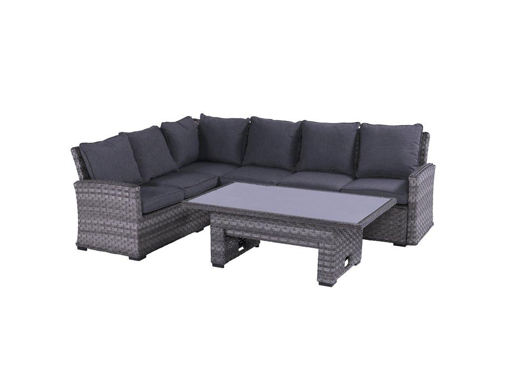 Hartman luxusní ratanová rohová sedačka