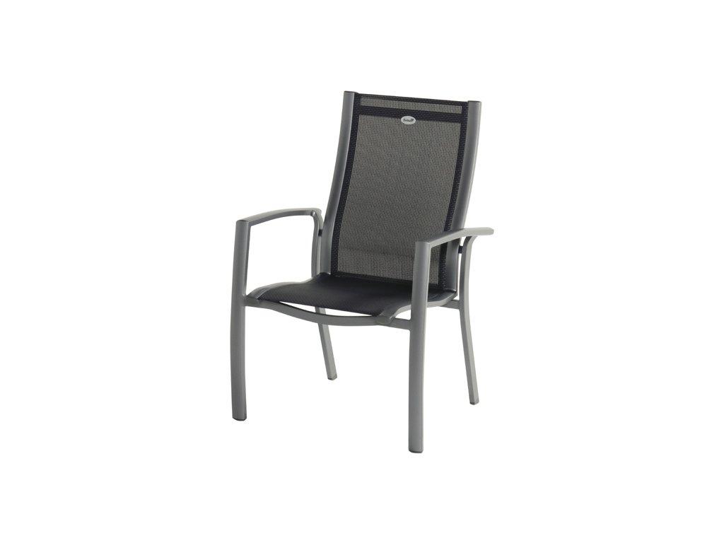 zahradní pevná stohovatelná židle Belcampo Hartman