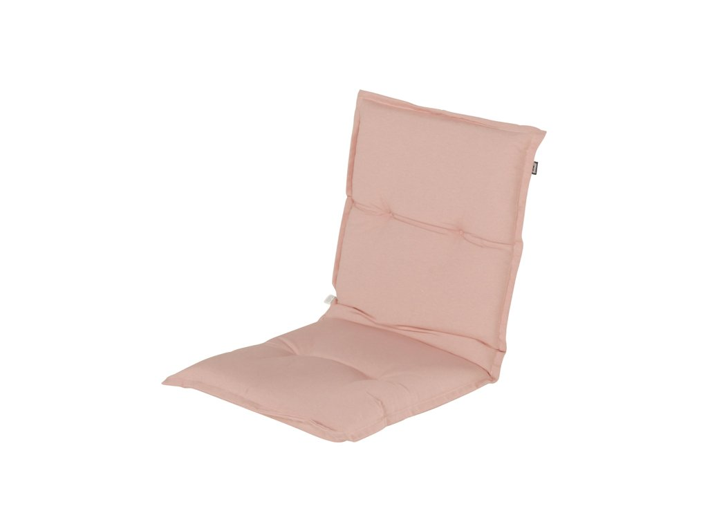 Hartman polstr sedák růžový na zahradní pevnou židli