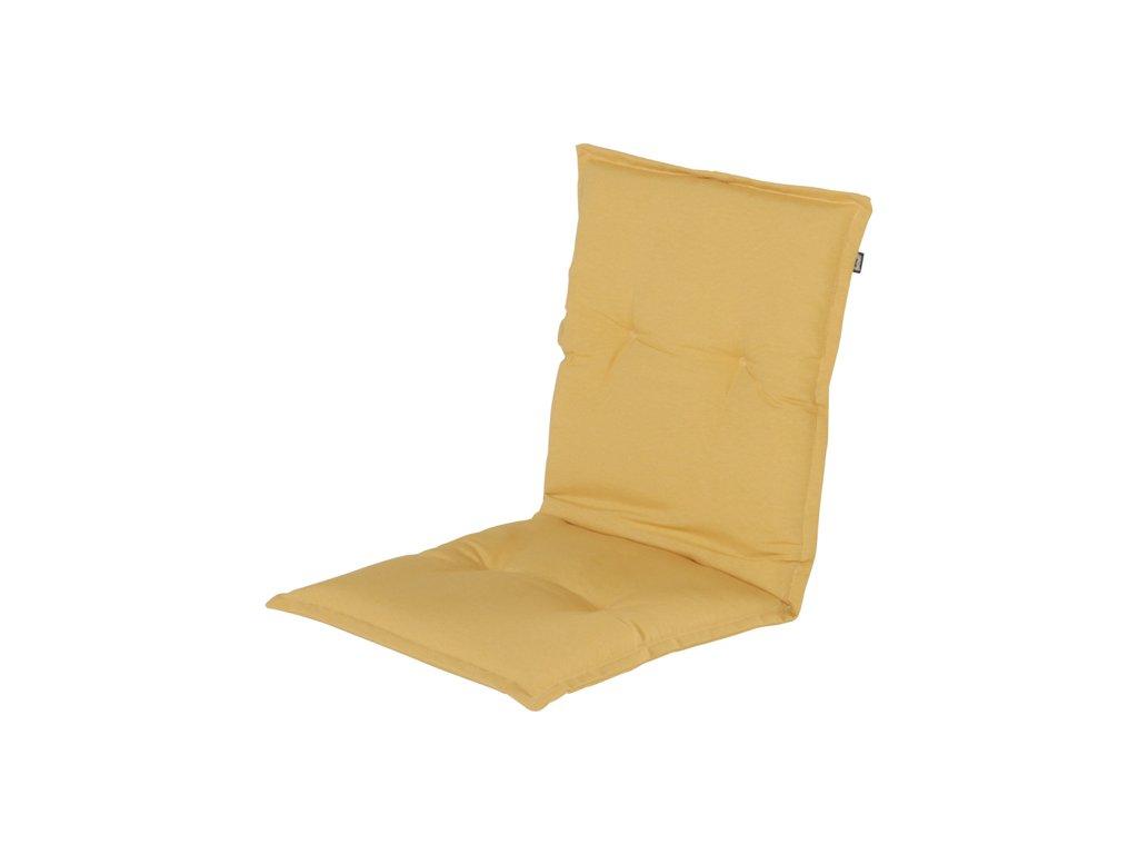Hartman polstr sedák žlutý na pevnou  zahradní židli