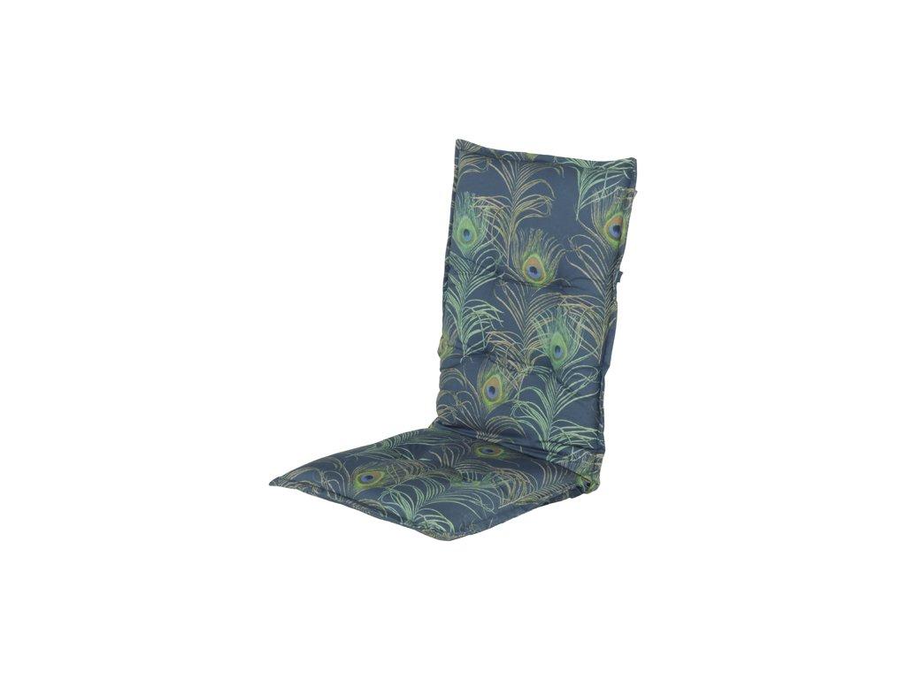 Hartman modrý potah polstr sedák na zahradní polohovací židli