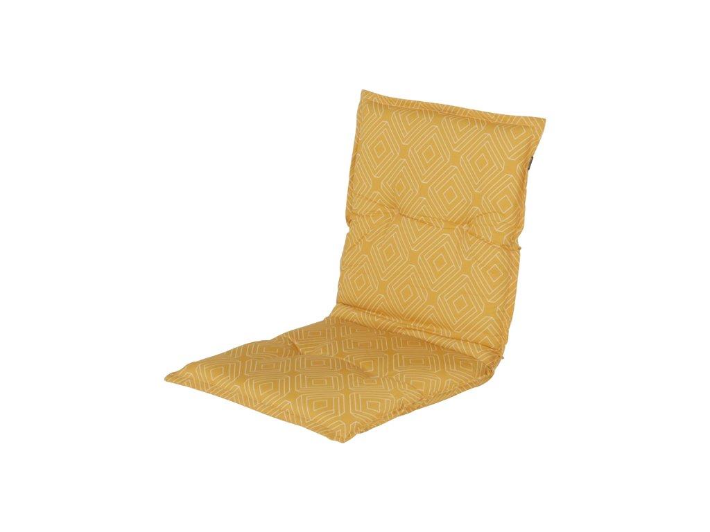 polstr sedák potah na zahradní nábytek žluty