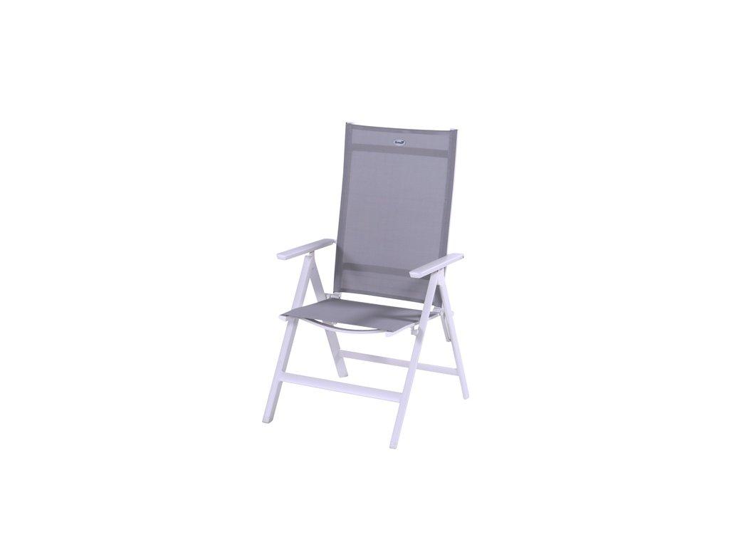Hartman zahradní židle polohovací z hliníku