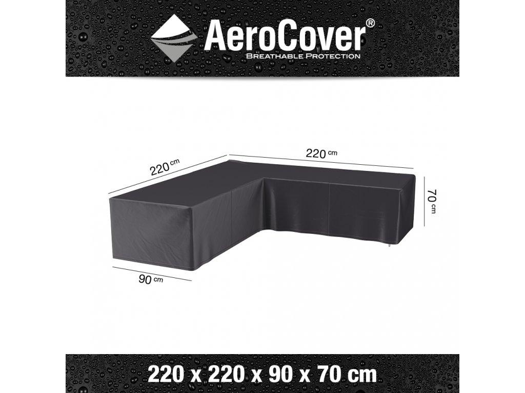 7944 lounge set cover corner 220x220 anthracite M Aerocover 8717591776192