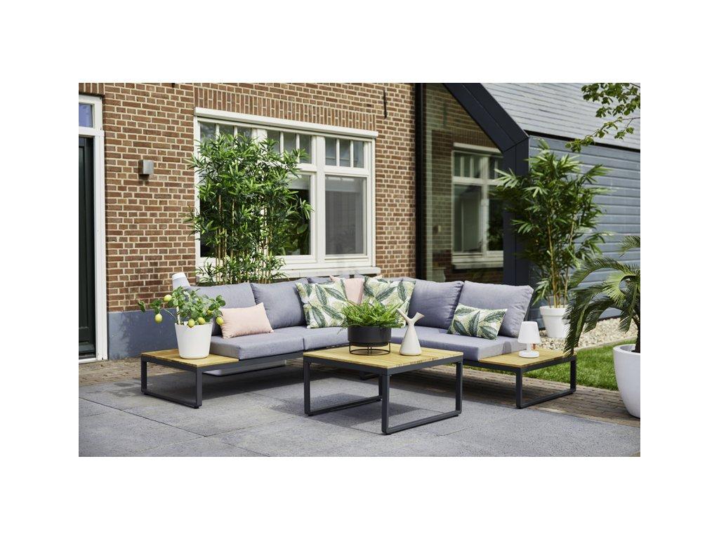 luxusní rohové zahradní sezení Hartman