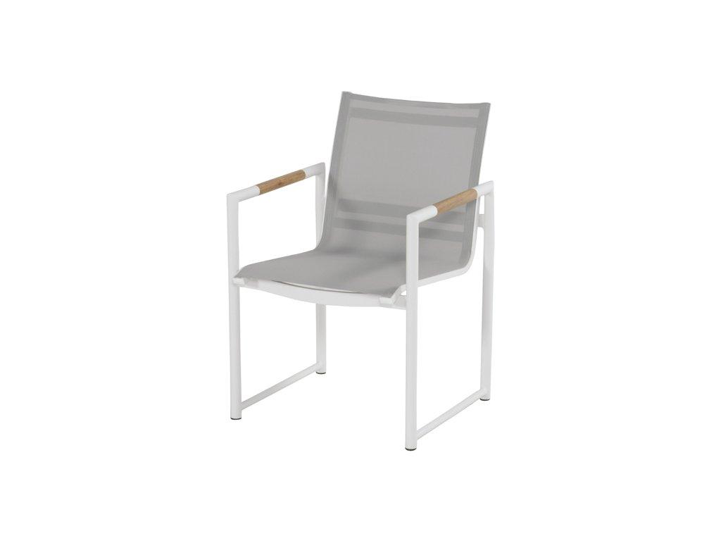 zahradní hliníková židle z kolekce Hartman
