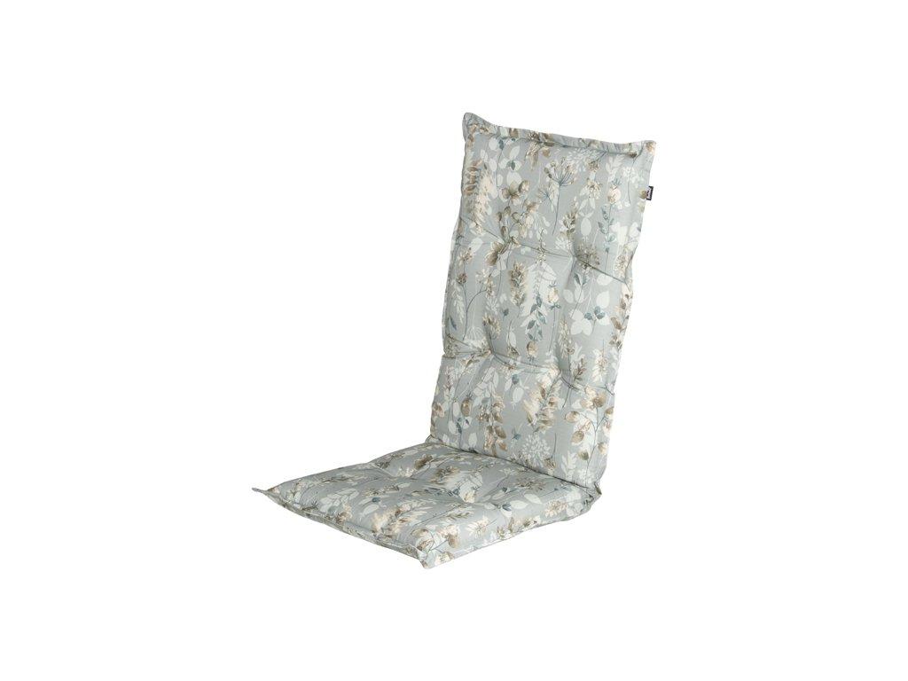polstr Hartman v šedém provedení na zahradní polohovací židli